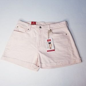 Levi's Signature Pale Pink High Rise Shorts - NWT
